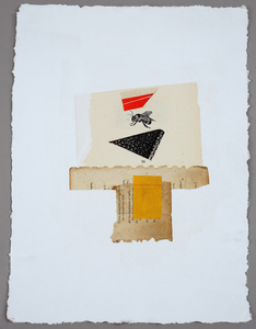Lori Glavin MIXED MEDIA Found Papers on paper