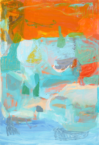 Lori Glavin PAINTING oil on gessoed paper
