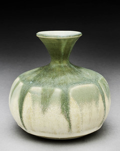 Lori Rollason Ceramics 2013 Thrown, faceted, and stretched stoneware, reduction fired cone 10