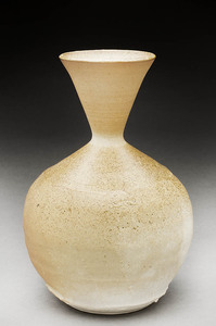 Lori Rollason Ceramics Wood Fired Work  Wood Fired Porcelaneous Stoneware, Thrown, faceted and stretched, glazed interior
