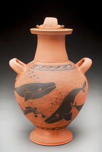 Lori Rollason Ceramics 2015 Earthenware (What Would Heracles Do?) Burnished earthenware, black slip, terra sigillata