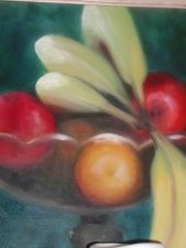 Lori Starkey Edibles Oil on Canvas