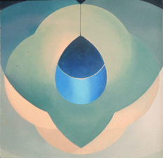 Lori Tremblay Vesica Piscis Series oil on panel