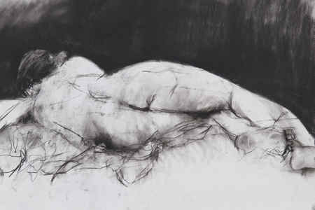lorna watkins drawing Charcoal