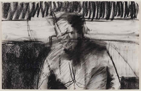 lorna watkins drawing charcoal on apper