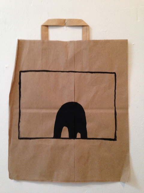 Bag Paintings Black