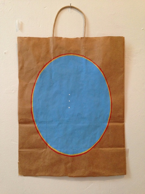 Bag Paintings VB Blue#3