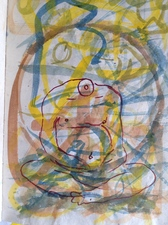 Louis Brawley Notes from the East 2006 Watercolor on paper