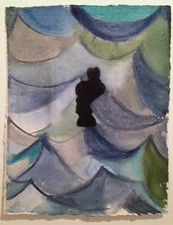 Louis Brawley Watercolours watercolour on handmade paper