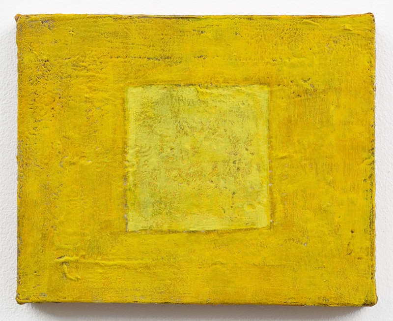 Louise P. Sloane Color/Square/Texture Acrylic Polymers and Paint on Linen