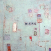Louise Weinberg Urban Rhythms oil on canvas
