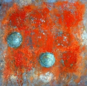 Louise Weinberg Recent Works on Paper oil on paper -SOLD