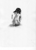 Louise Weinberg Life Drawings charcoal