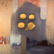 Louise Weinberg Egg Paintings oil on canvas-