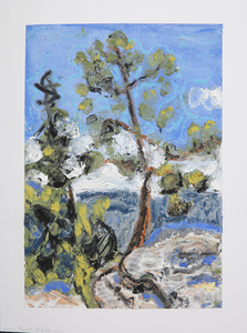 Louis Risoli  Plein Air Drawings oil pastel on paper