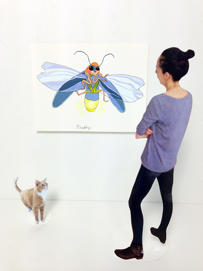 Exhibition Series 3: I Can't Spell Group Without A You, Summer 2014 Amy Jean Porter (& Liono)