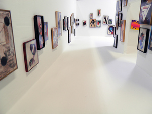 """Orphans in the Storm"" Installation view"