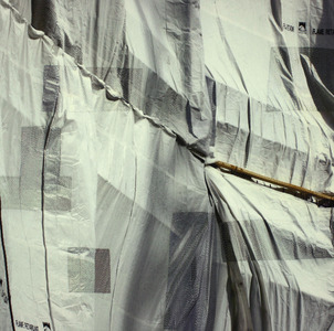 Luanne Rimel Cloth in the Landscape Photograph on silk