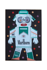 Jane Lubin CigarettePack Collages Acrylic/Collage