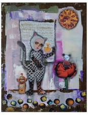 Jane Lubin Larger Collages Acrylic/Collage