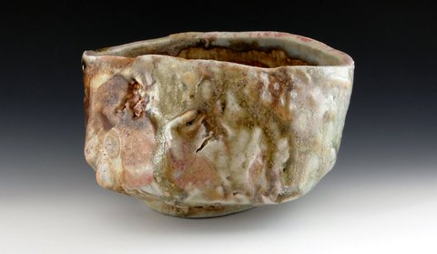 LUCIEN KOONCE ceramics Chawan : Tea Bowls Wood fired Stoneware