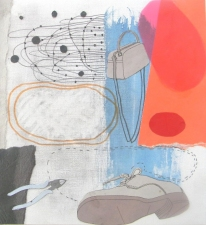 Drawings & Collages Collage & drawing on paper
