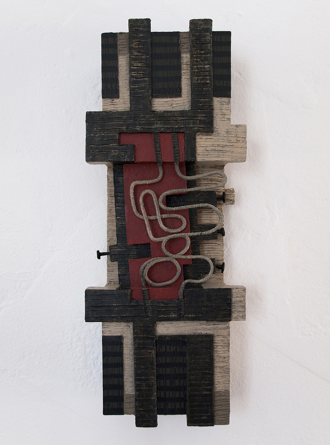 Small Constructions and Wall Sculptures Abstract Rhythms (sculpture)