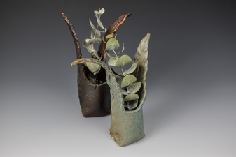 Lucy W. Scanlon 2015-2018 Marine Motif Tableware White Stoneware and Glaze