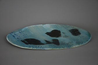 Lucy W. Scanlon 2015-2018 Marine Motif Tableware White Stoneware clay, slip, and glaze