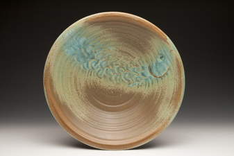 Lucy W. Scanlon Marine Motif Pieces - Recent  White stoneware