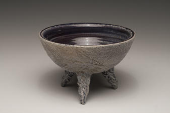 Lucy W. Scanlon Marine Motif Pieces - Recent  White stoneware and glaze