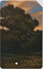 L  U  I  S   C  O  L  A  N Landscape oil on metro card