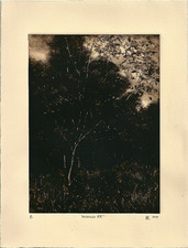 L  U  I  S   C  O  L  A  N Monotypes image 8 x 6 inches, sheet 11 x 8 1/2 inches