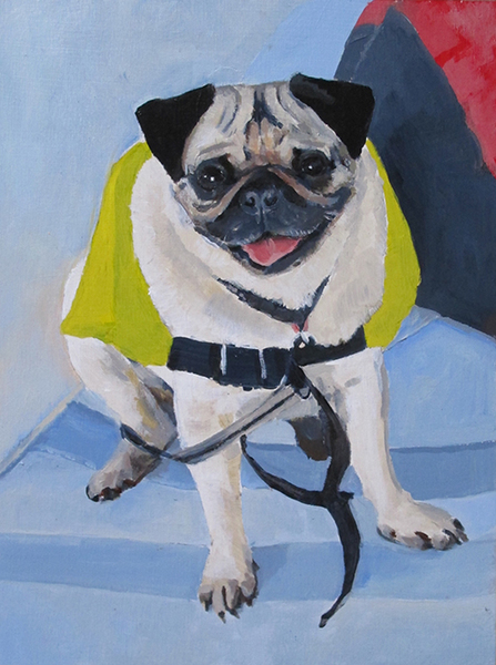 "Painting ""Sit"" Oigly"