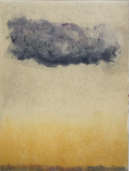 Intaglio Cloud Cloud (golden)