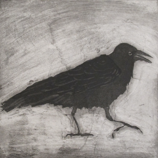 Larger Intaglio Crows A Murder of Crows (trace elephant)