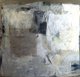 madeline denaro Paintings 2003-2006 mixed media with gauze on linen
