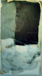madeline denaro Paintings 2003-2006 mixed media w/oil and gauze on canvas