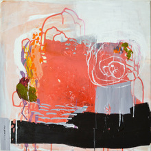 madeline denaro Paintings 2012-2013 acrylic with polymers and marker on canvas