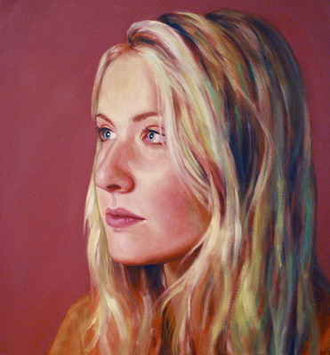 Maggie Shafran Painting Oil on Canvas
