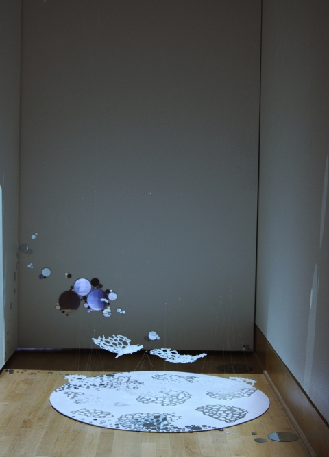 Maki Hajikano Installation mixed media