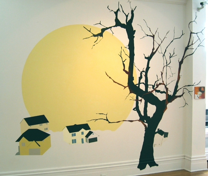 "1997-2006 ""Spills."" Installation view from Newhouse Center for Contemporary Art"