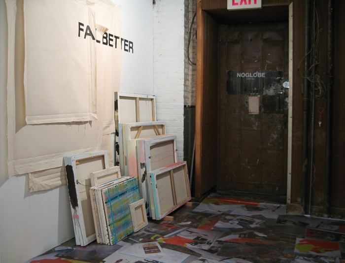 2009 Fail Better: installation view