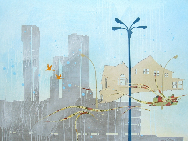Paintings Exurban Estate - s
