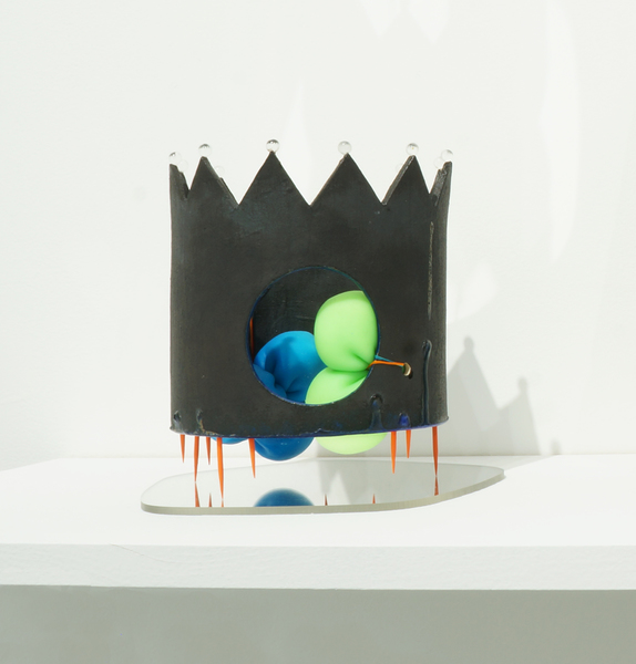 3D Objects Crown & Balls