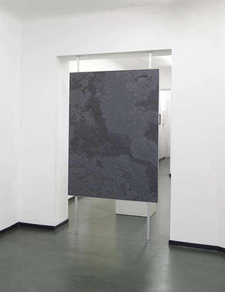 Marc Handelman Continuous Grounds Oil on Canvas, Aluminum Frame and Hardware