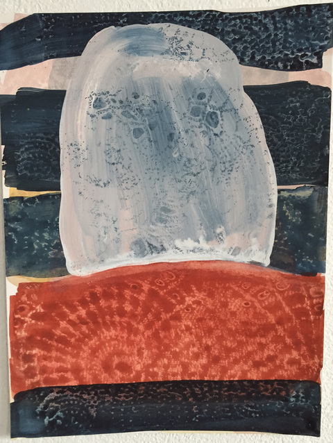 Marcy Rosenblat Small Work On Paper watercolor and gouache on paper