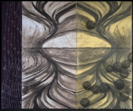 Mariah Doren Math & Nature Portfolio (Doren/Paas Collaboration) Mixed Media Print: Ink Jet Prints, Intaglio, Silkscreen, Wax, Collage