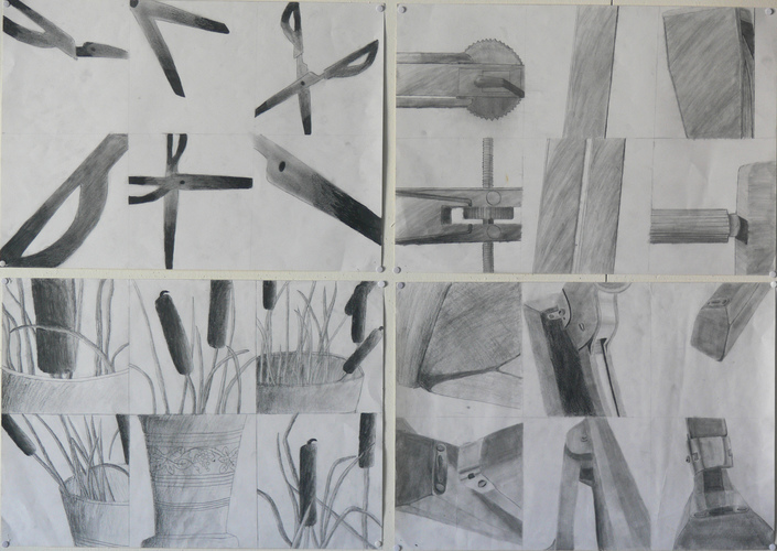 Maria Katzman Student Art Work (2 pages) Pencil