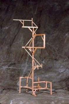 Maria Levitsky  Small Hand-built Structures wood